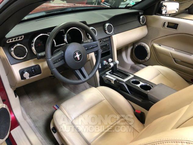 Ford Mustang V6 AUTOMATIQUE 4,0L Bordeaux Métallisé Occasion - 5