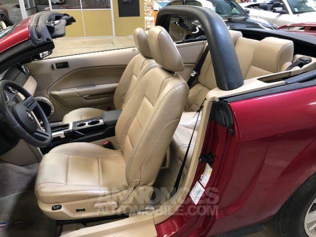 Ford Mustang V6 AUTOMATIQUE 4,0L Bordeaux Métallisé Occasion - 6