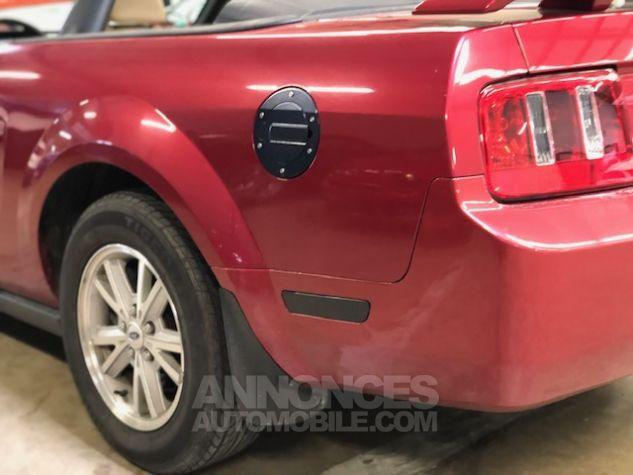 Ford Mustang V6 AUTOMATIQUE 4,0L Bordeaux Métallisé Occasion - 8