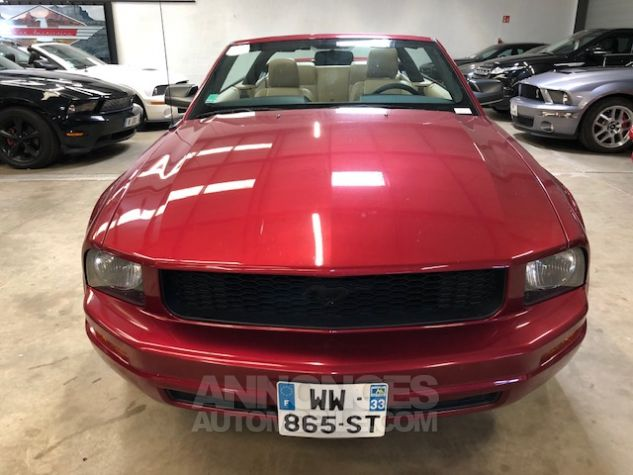 Ford Mustang V6 AUTOMATIQUE 4,0L Bordeaux Métallisé Occasion - 9