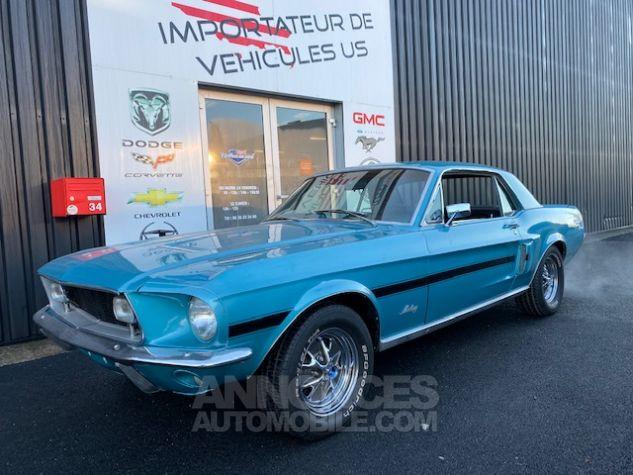 Ford Mustang V8 289 BVA Turquoise Verni Occasion - 2