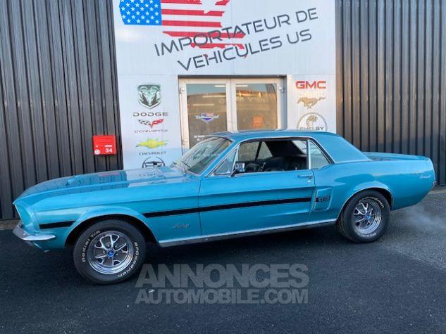 Ford Mustang V8 289 BVA Turquoise Verni Occasion - 3