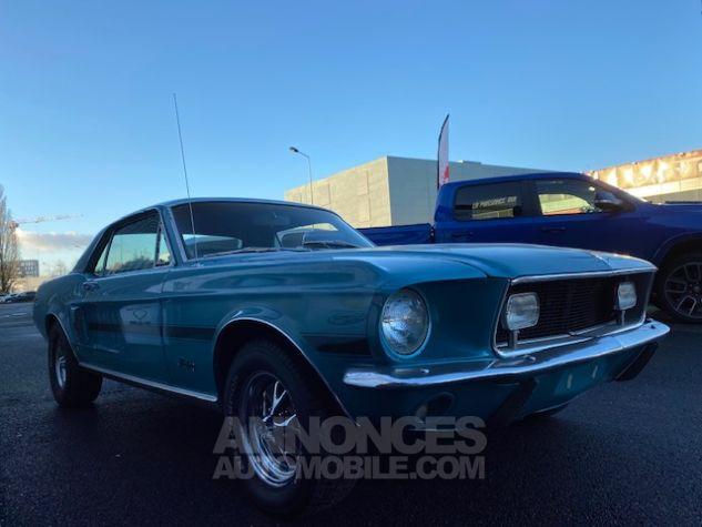 Ford Mustang V8 289 BVA Turquoise Verni Occasion - 8