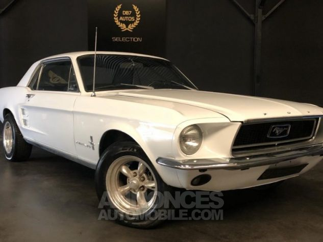 Ford Mustang V8 289 PEINTURE NEUVE BLANC Occasion - 0