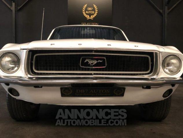 Ford Mustang V8 289 PEINTURE NEUVE BLANC Occasion - 1