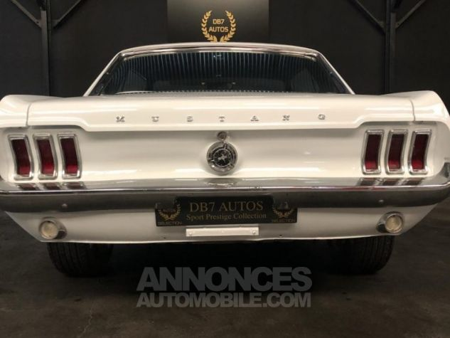 Ford Mustang V8 289 PEINTURE NEUVE BLANC Occasion - 10