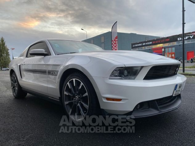 Ford Mustang V8 5,0L GT/CS CALIFORNIA Blanc Verni Occasion - 5