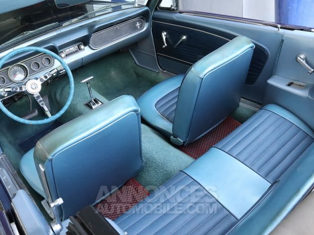 Ford Mustang V8 CABRIOLET 289CI BLEU Occasion - 8