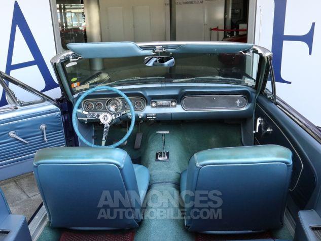 Ford Mustang V8 CABRIOLET 289CI BLEU Occasion - 11