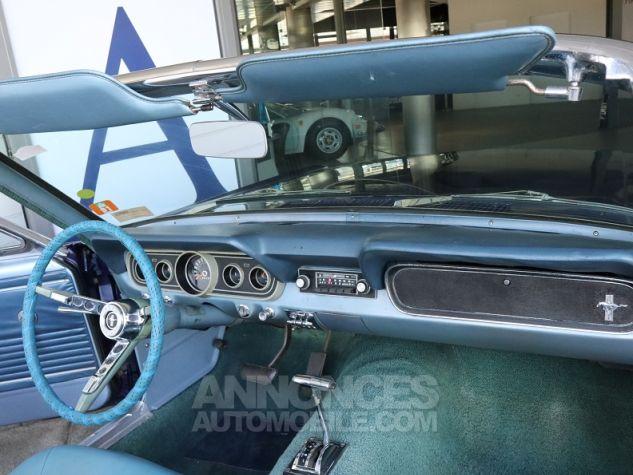 Ford Mustang V8 CABRIOLET 289CI BLEU Occasion - 12