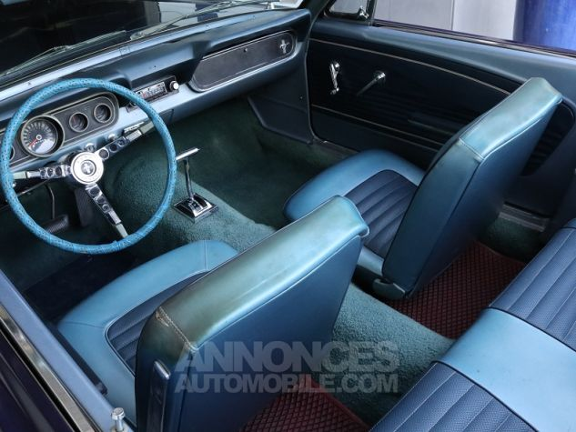 Ford Mustang V8 CABRIOLET 289CI BLEU Occasion - 15