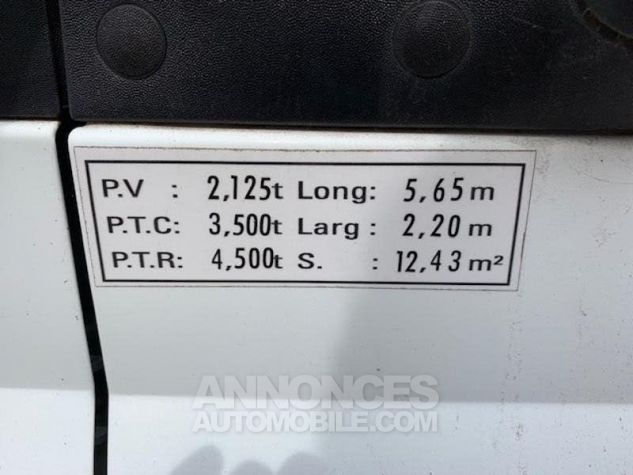 Ford Transit PlanCb 350L 2.2 TDCi 140 Blanc Occasion - 9