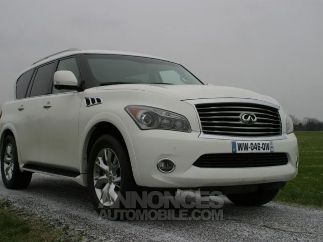 Infiniti QX56 luxury Pack Theater blanc nacré Occasion - 0