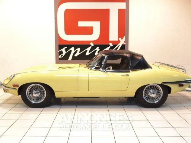 Jaguar E-Type Type E Cabriolet 4.2L Pale Primerose Yellow Occasion - 2