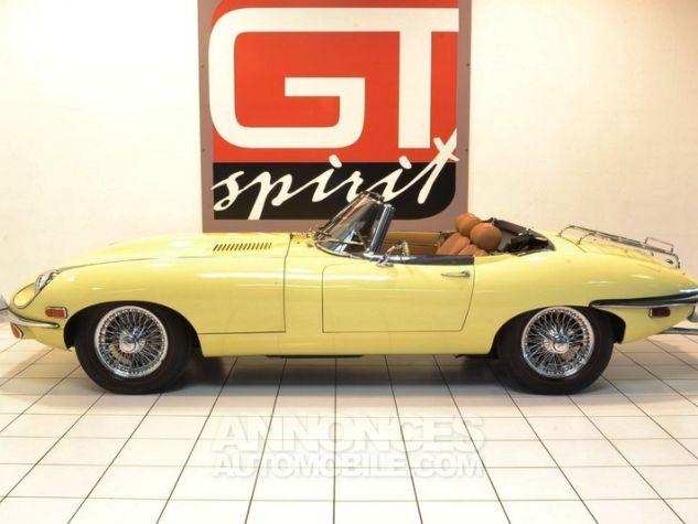 Jaguar E-Type Type E Cabriolet 4.2L Pale Primerose Yellow Occasion - 3