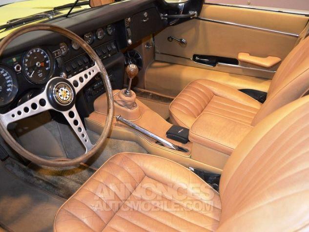 Jaguar E-Type Type E Cabriolet 4.2L Pale Primerose Yellow Occasion - 6