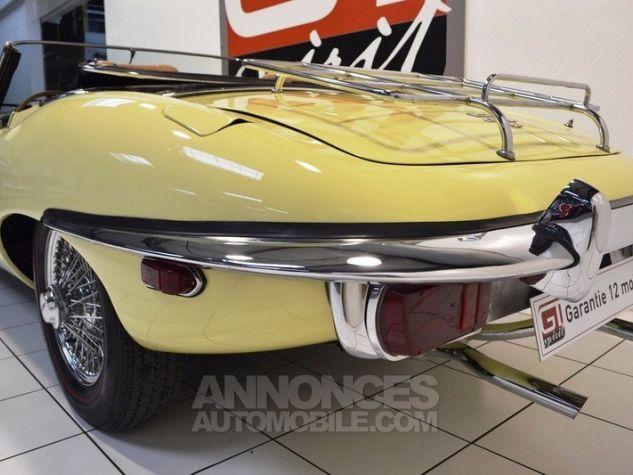 Jaguar E-Type Type E Cabriolet 4.2L Pale Primerose Yellow Occasion - 16