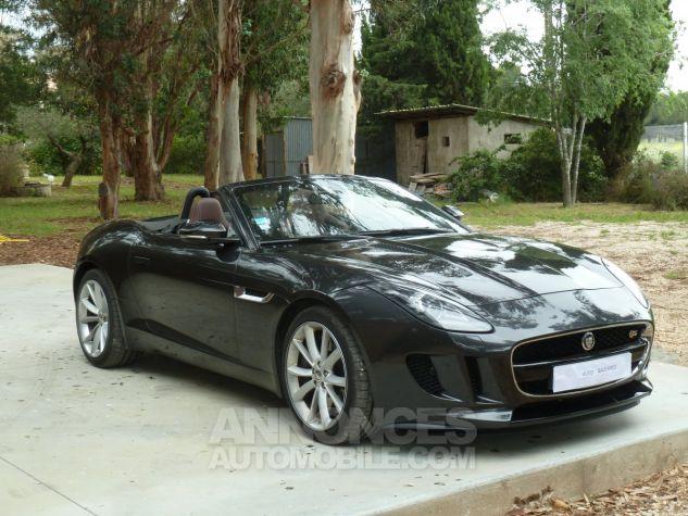 Jaguar F-Type CABRIOLET 3.0 V6 S 380 CV GRIS ANTHRACITE METALLISE Occasion - 1