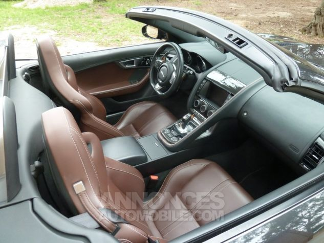 Jaguar F-Type CABRIOLET 3.0 V6 S 380 CV GRIS ANTHRACITE METALLISE Occasion - 4