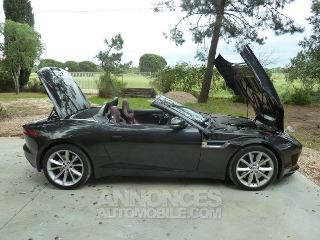 Jaguar F-Type CABRIOLET 3.0 V6 S 380 CV GRIS ANTHRACITE METALLISE Occasion - 13