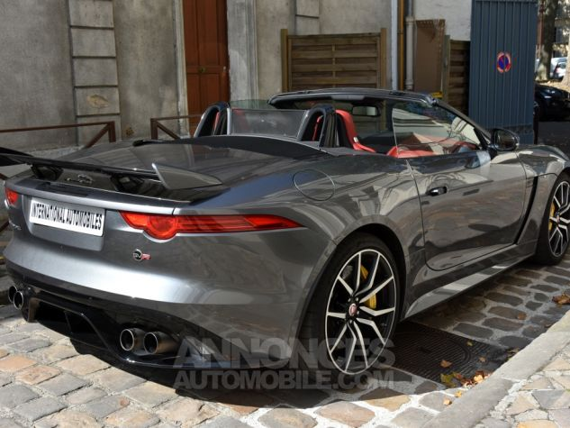 Jaguar F-Type Cabriolet SVR AWD Ammonite Grey Occasion - 5
