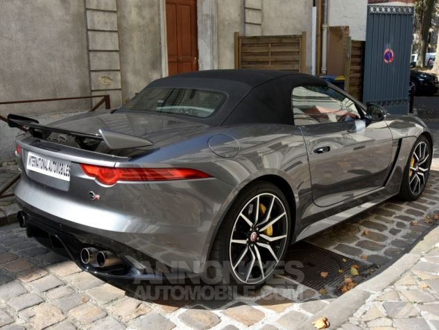 Jaguar F-Type Cabriolet SVR AWD Ammonite Grey Occasion - 6