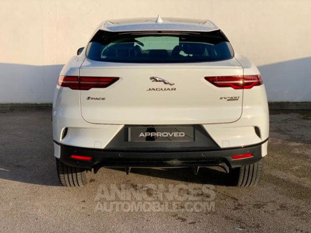 Jaguar I-Pace EV400 SE AWD Blanc (FUJI WHITE) Occasion - 4