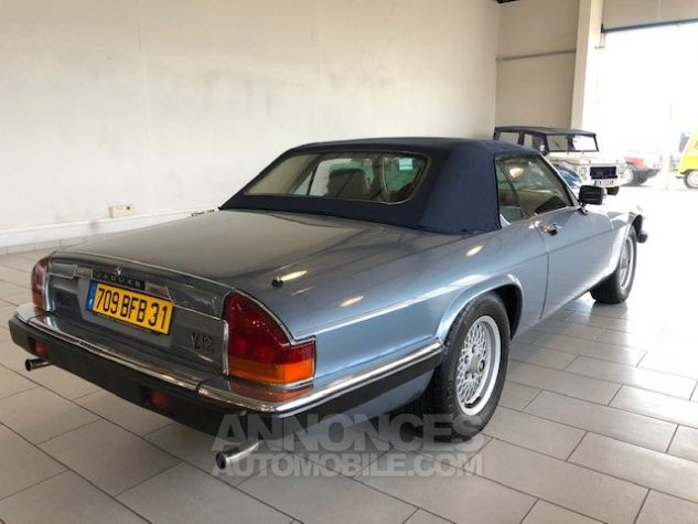 Jaguar XJS V12 bleu Occasion - 3