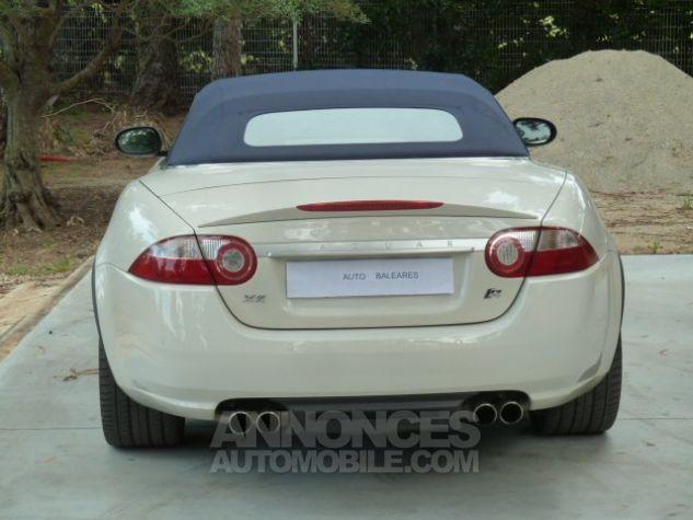 Jaguar XKR 4.2 L CONVERTIBLE BVA BLANC Occasion - 19