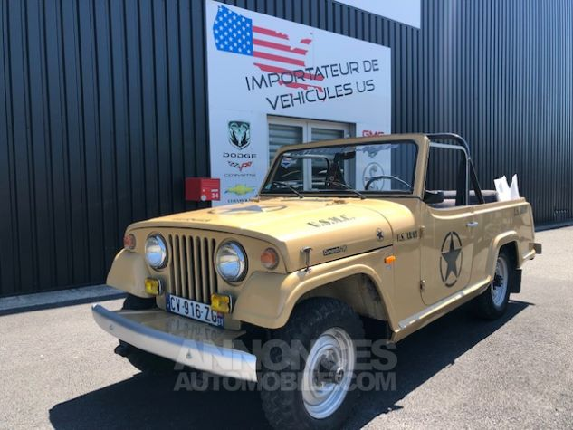 Jeep Commando HD Beige Verni Occasion - 0