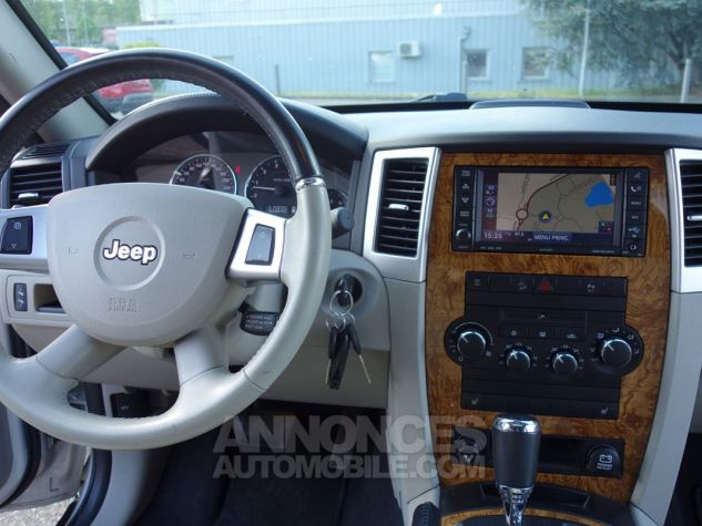 Jeep GRAND CHEROKEE limited 3L crd argent Occasion - 8