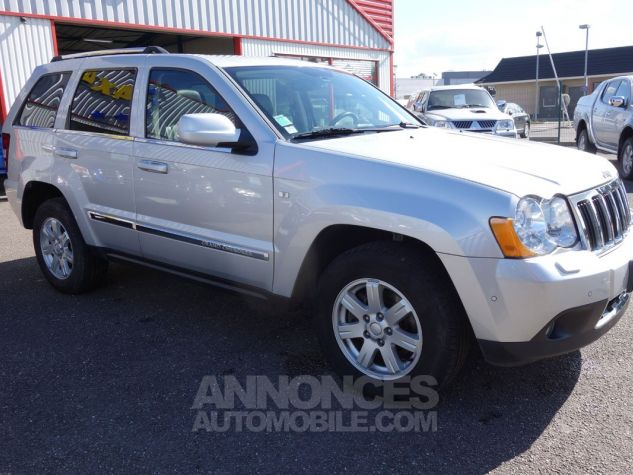 Jeep GRAND CHEROKEE limited 3L crd argent Occasion - 11