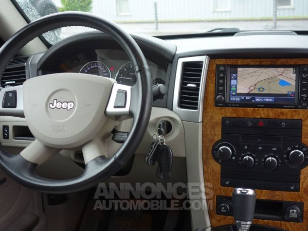 Jeep GRAND CHEROKEE limited 3L crd argent Occasion - 9