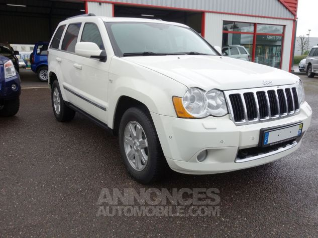 Jeep GRAND CHEROKEE limited 3L crd argent Occasion - 10