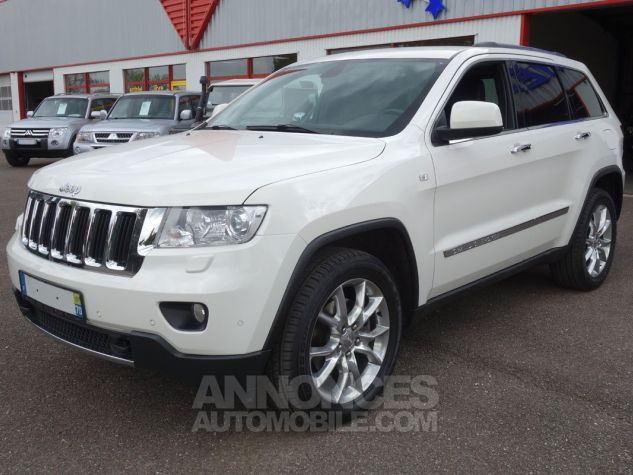 Jeep GRAND CHEROKEE limited crd blanc Occasion - 1