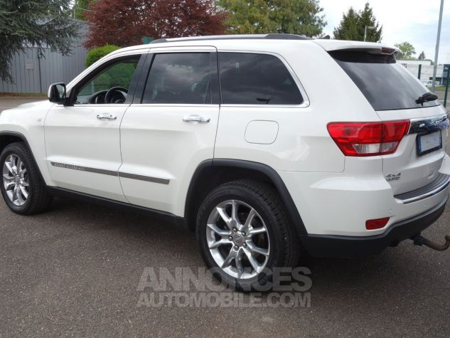 Jeep GRAND CHEROKEE limited crd blanc Occasion - 2