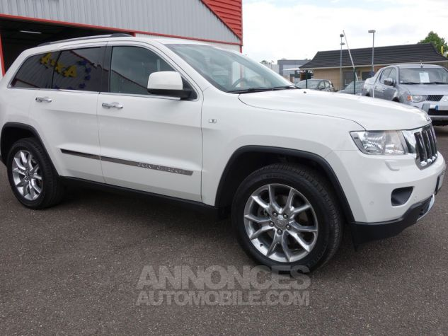 Jeep GRAND CHEROKEE limited crd blanc Occasion - 9
