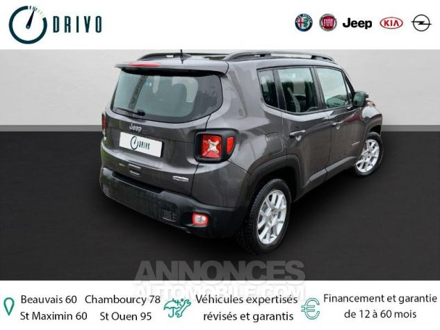 Jeep Renegade 1.3 GSE T4 150ch Longitude Business BVR6 Gris Occasion - 1