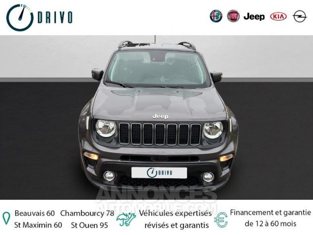Jeep Renegade 1.3 GSE T4 150ch Longitude Business BVR6 Gris Occasion - 2