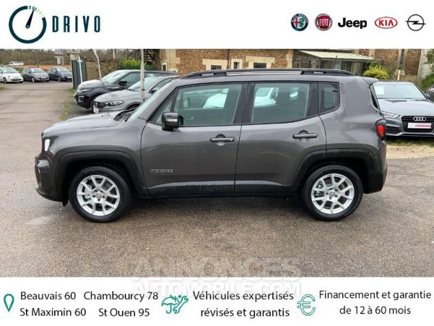 Jeep Renegade 1.3 GSE T4 150ch Longitude Business BVR6 Gris Occasion - 3
