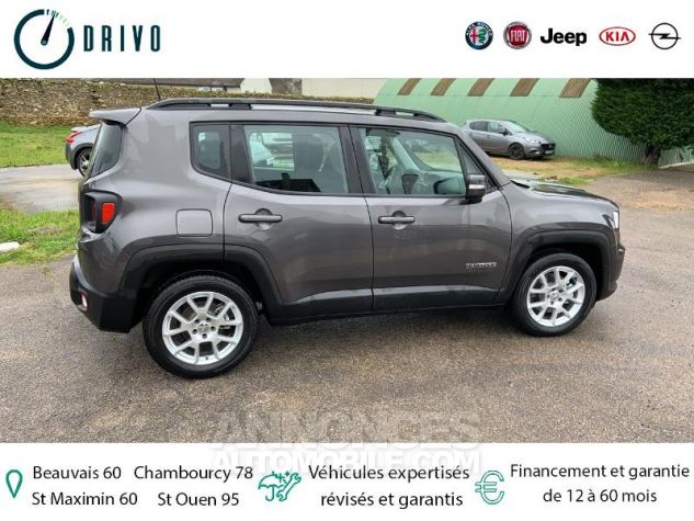 Jeep Renegade 1.3 GSE T4 150ch Longitude Business BVR6 Gris Occasion - 4
