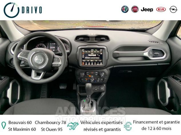 Jeep Renegade 1.3 GSE T4 150ch Longitude Business BVR6 Gris Occasion - 5