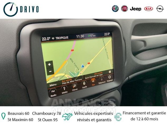 Jeep Renegade 1.3 GSE T4 150ch Longitude Business BVR6 Gris Occasion - 7