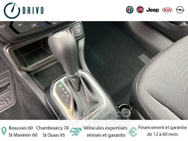 Jeep Renegade 1.3 GSE T4 150ch Longitude Business BVR6 Gris Occasion - 9