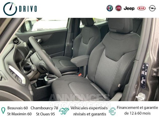 Jeep Renegade 1.3 GSE T4 150ch Longitude Business BVR6 Gris Occasion - 10