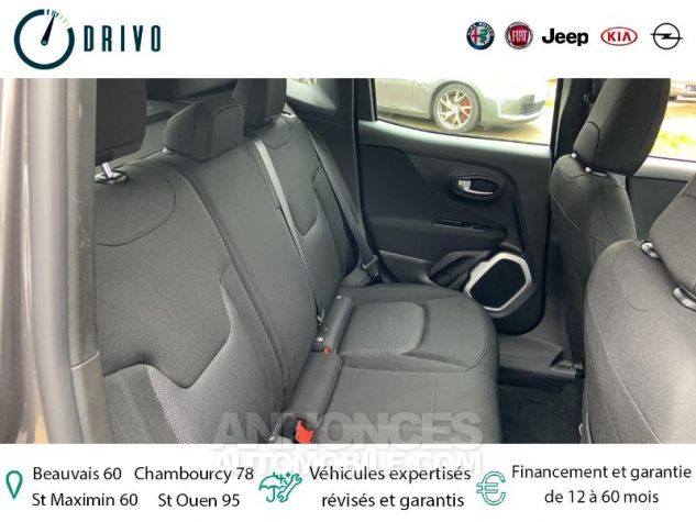 Jeep Renegade 1.3 GSE T4 150ch Longitude Business BVR6 Gris Occasion - 11