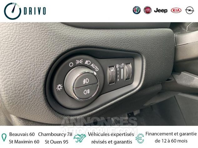 Jeep Renegade 1.3 GSE T4 150ch Longitude Business BVR6 Gris Occasion - 14