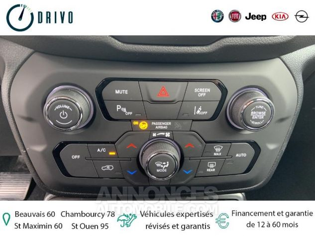 Jeep Renegade 1.3 GSE T4 150ch Longitude Business BVR6 Gris Occasion - 16