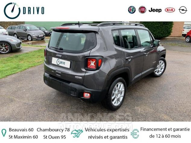 Jeep Renegade 1.3 GSE T4 150ch Longitude Business BVR6 Gris Occasion - 18