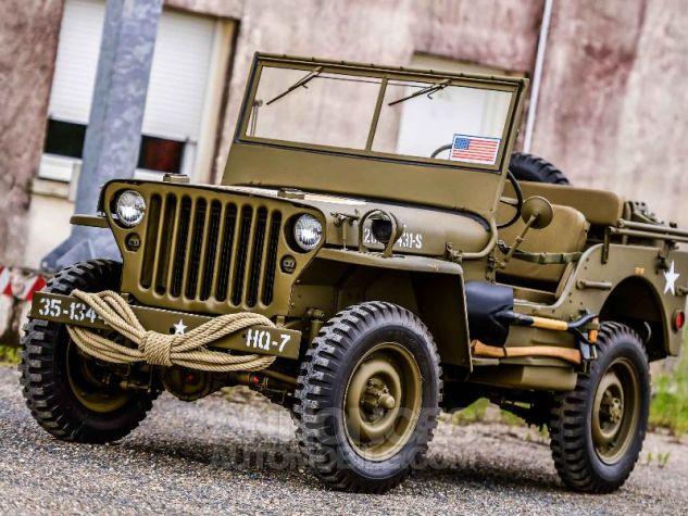Jeep Willys MB 1944 KAKI Neuf - 0